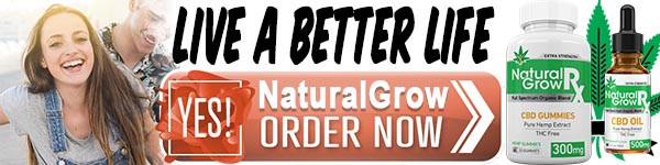 Natural Grow CBD Ingredients